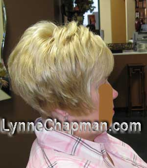 Layered, short  bob